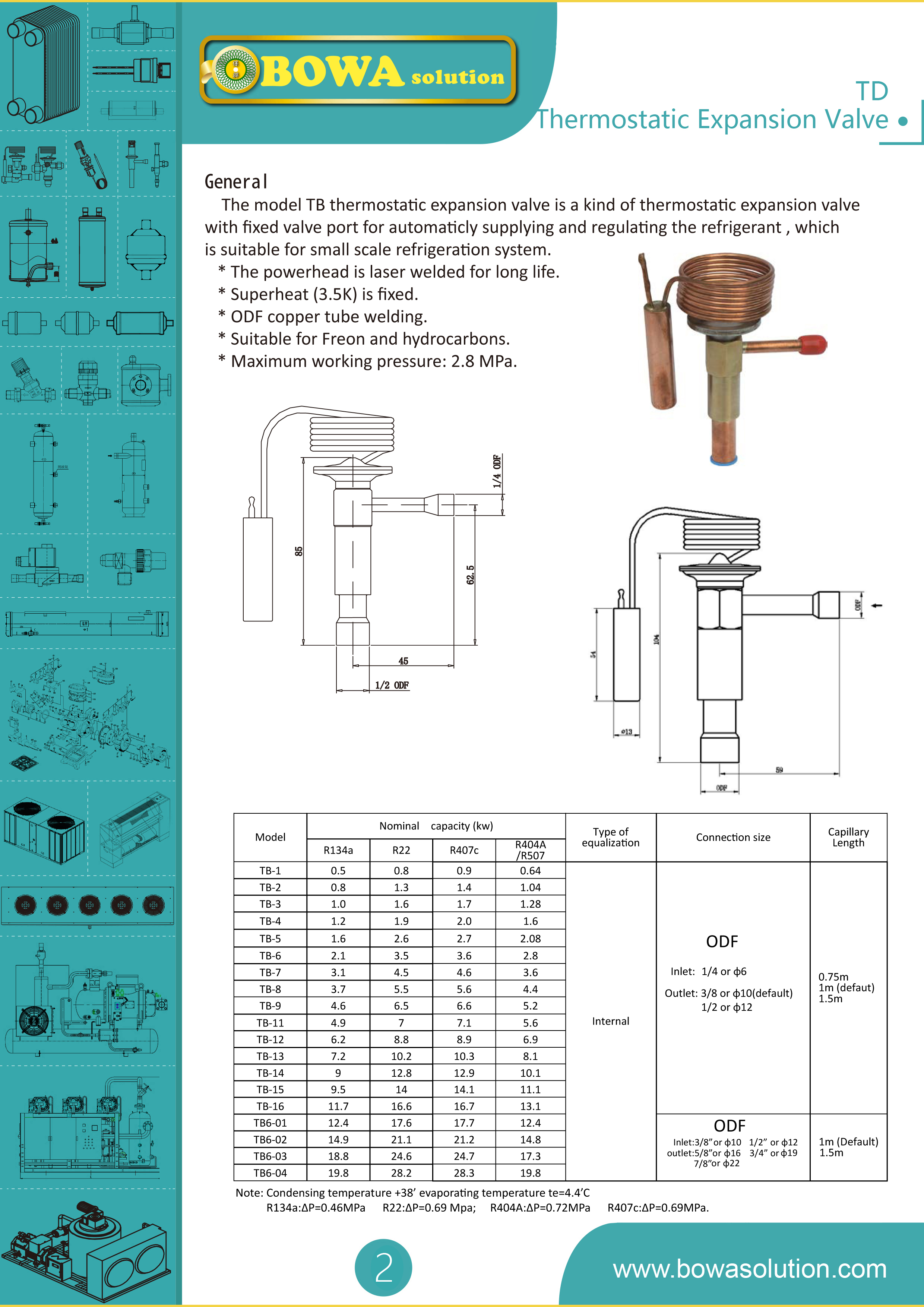 Tb Expansion Valve Bowa Solution One Supplier For Everything Diagram